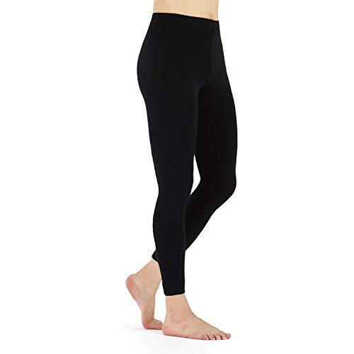 LK LEKUNI Leggings Mujer Leggins Largos algodon Cómodo