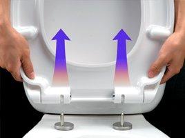 Keramag Renova Nr. 1 rimfree, Spülrandlos,Tiefspül-WC, inkl. Sitz und Beschichtung - 5