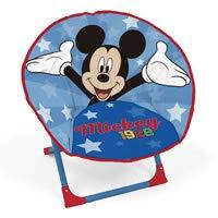 ARDITEX WD13012 Stuhl in Mond-Form, 50 x 50 x 50 cm, Disney Mickey