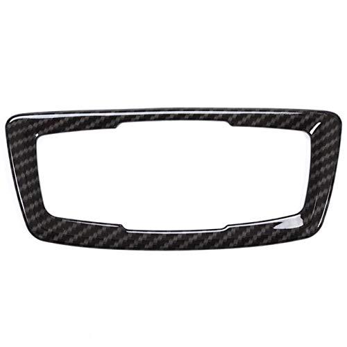 WOVELOT Kohle Faser Muster Für BMW X1 F48 2016 2017 ABS Chrome Scheinwerfer Scheinwerfer Schalter Taste Abdeckung Trim Auto Zubeh?r Für BMW X2 F47 2018 -