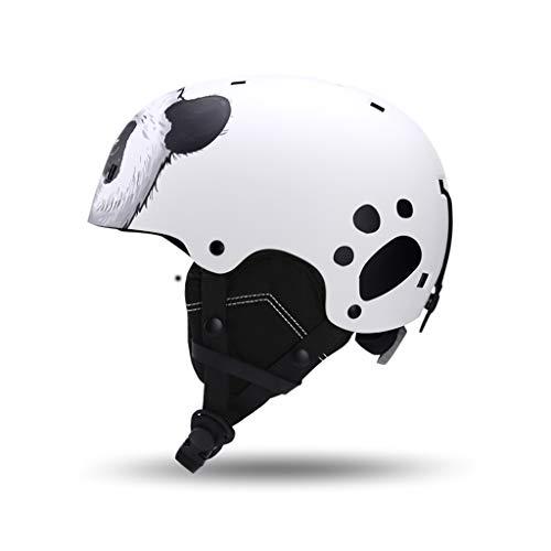 Yunyisujiao Kinderski & Snowboardhelm, Kinderski Schutzkappe verstellbar Skateboard Skating Helm (Color : Blue) (Football Helm Blue)