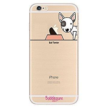 Bubblegum Cases Coque pour iPhone en TPU, Shiba, iPhone 6 6s Bull Terrier