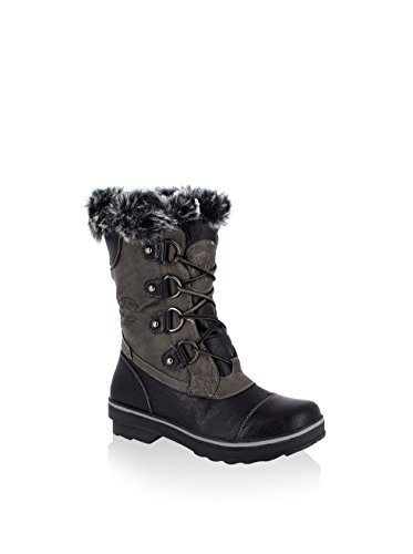 Kimberfeel - Après Skis Aponi Noir Femme - Femme - Noir Noir