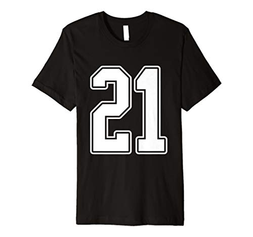 Nummer 21 Sports Fan Jersey Style T-Shirt ()