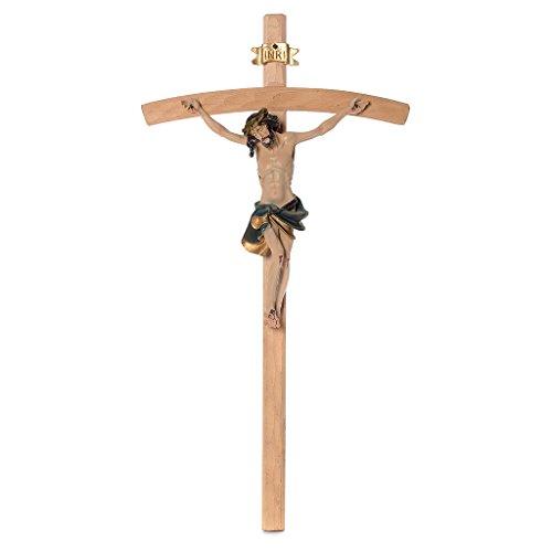 Kruzifix 75x38 Harz und Holz