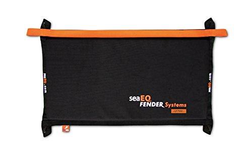 seaEQ YACHTSPORT EQUIPPED Fendermatte Langfender Flachfender LF 700 schwarz