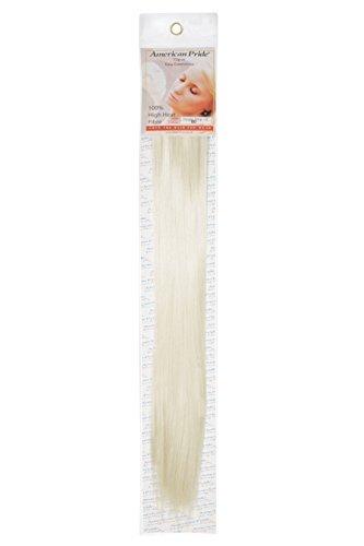 Synthetische Haarverlängerungen Clip In Haarverlängerung 45.7cm Sternenlicht Blond (60) von American Pride