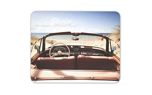 Classic Car Mauspad Pad - Strand Meer Sunny Holiday Fun Computer-Geschenk # 14897