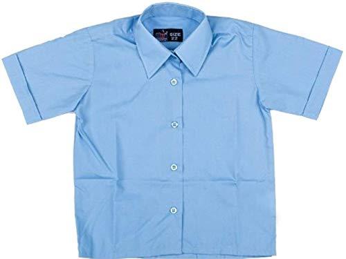 Uniforme Scolaire Formel Pour Hommes/Décontracté Vêtement de travail Top Col Standard Chemise Manche Courte Only Uniform