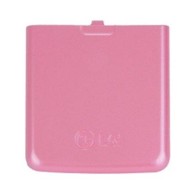 Original LG Akkudeckel für KP500, KP501, KP502 Pink, Rückschale, Backcover,