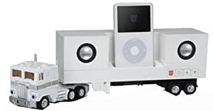 Transformers Music Label Ipod 1st Generation ONLY Optimus Prime Docking Station