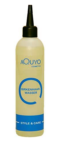 Birkenhaarwasser für trockene Haare und empfindliche Kopfhaut (200ml) | Birkenwasser gegen Schuppen und fettige Haare | Haarwasser zur Kopfhautpflege