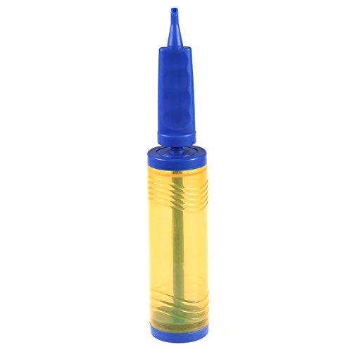 NUOLUX Ballon Gonflage Pompe à Air pour Ballons et Balles (jaune + bleu)