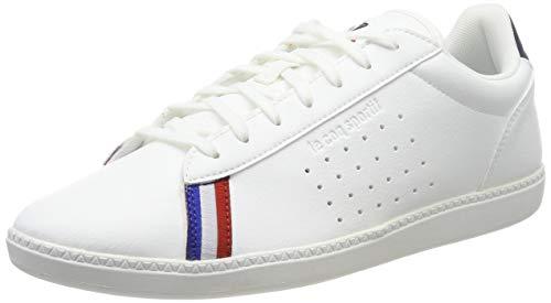 LE COQ SPORTIF COURTSTAR Sport, Baskets Hommes, Blanc (Optical White/Dress Blue), 42 EU