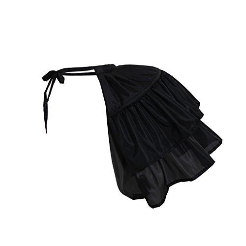Cosplayitem Damen Kostuem Petticoat für Rokoko-Kleid Underskirt Blume Mittelalterliche...