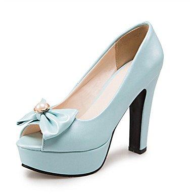 LFNLYX Sandales femmes Printemps Été Automne Nouveauté Confort matériaux sur mesure robe de soirée partie & similicuir Talon Beige Rose occasionnels Blue