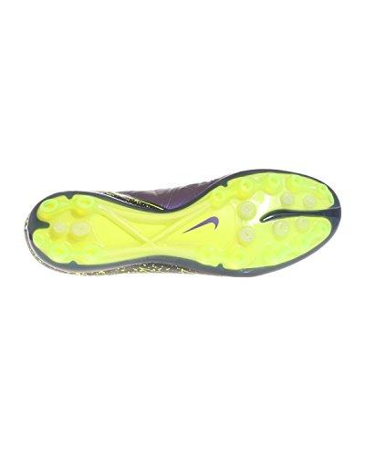 Nike Herren Hypervenom Phinish Ag-R Fußballschuhe, Bunt Lila / Schwarz / Grün (Hyper Grape / HYPR Grape-Blk-VLT)