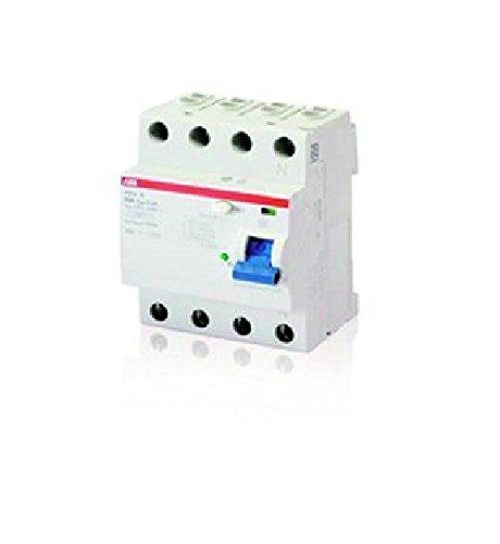 ABB F204B-40/0,03 FI-Schutzschalter Typ B 4P,40A,30mA,kurzzeitverz.,3kA,4TE 2CSF204592R1400 8012542358336