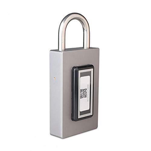 JALAL Smart Sin Llave Cerradura, Candado Bluetooth con GPS Localizar App TeléFono...