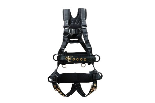 elk-river-67612-polyester-nylon-peregrineex-platinum-series-6-d-ring-harness-with-tongue-buckles-med