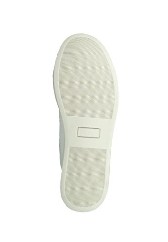 Bianco Pu Textil Weiss Bianco Snake Sneaker L40 3501 La Gear Lima Djezz wPP687