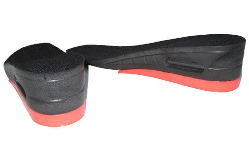 Damen Dual Air Cushion Heel Lift Höhe Erhöhung Einlegesohlen Ferse,: (Man Besten Anzug Iron Die)