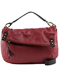 8c8a89c31a6a Manzoni Persimmon Colored Women s Leather Shoulder Bag
