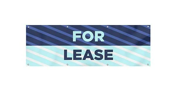 for Lease CGSignLab 12x3 Basic Teal Wind-Resistant Outdoor Mesh Vinyl Banner