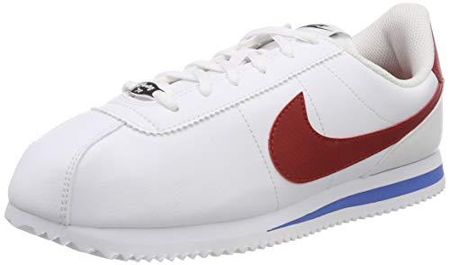 Nike Cortez Basic SL (GS), Zapatillas de Deporte Unisex Adulto, (Rojo 904764 103), 40 EU