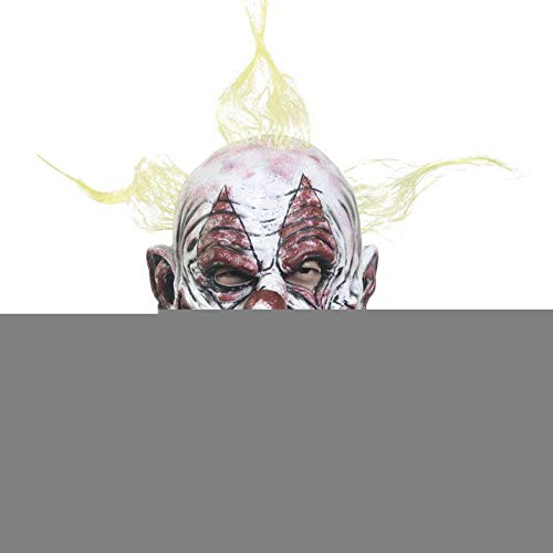 Gruselige Kostüm Mann Alte - FLTVSN Halloween Maske Halloween Latex Maske Alter Mann Gruselige Latexmaske für Maskerade Halloween Kostüm Party Realistische Horror Dekoration mit Haar X12055b