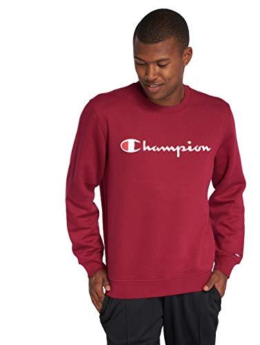 Champion Herren Crewneck Sweatshirt, Rot (Rur Rs507), XX-Large Champion Fleece-sweatshirt