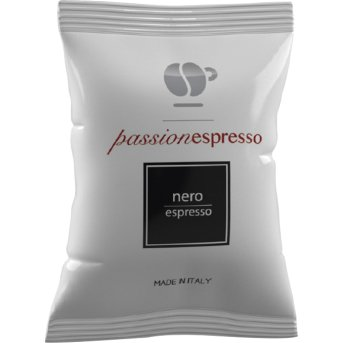 LOLLO CAFFE' 400 CIALDE CAPSULE PASSIONE ESPRESSO MISCELA NERA COMPATIBILI NESPRESSO