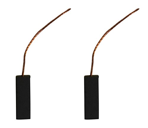 2x Carbon Brushes - Use On Electrolux Vacuum Cleaner (size - 6 X 9 X 25) Picture