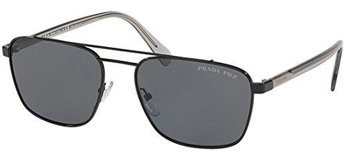 Ray-Ban Herren 0PR 61US Sonnenbrille, Schwarz (Black), 59