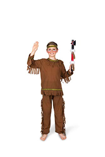 Kinder Kostüm Karnival - Karnival Costumes Indian Brave Kind Kostüm Native American Warrior Buch Woche Outfit