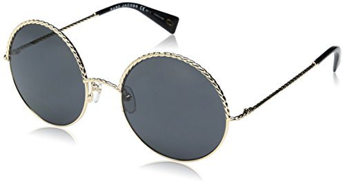 Marc Jacobs Damen Sonnenbrille Marc 169/S IR Rhl, Gold (Gold Black/Grey Bluette), 57 - Marc Jacobs Bekleidung