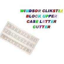 Block lettres majuscules Clikstix Fourchette Windsor
