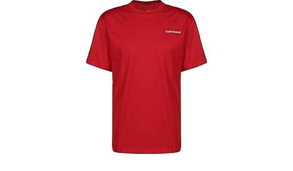 Converse All Star Short Sleeve T Shirt Herren 10017432 Rot
