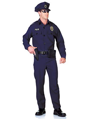 Horror-Shop 5-teiliges US Police Officer Kostüm