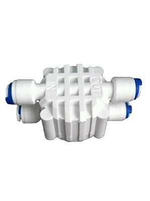 """Système de filtre à osmose inverse Fonction arrêt automatique 4 voies 1/4 """"- Valve ASO RO"""