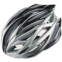 XDXDWEWERT Bicicleta Casco Ajustable de la Bici del Adulto Casco de la Bici del Casco de la Bicicleta de montaña porosa (Plata)