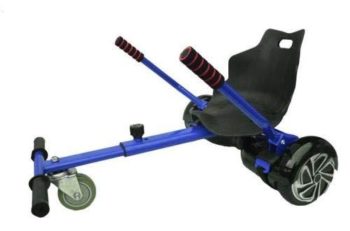OVIBOARD Asiento Hoverboard, Kart para Patinete (Azul)