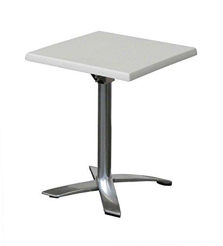Table Spéciale Bord de mer et conditions extrêmes 60x60cm Blanc