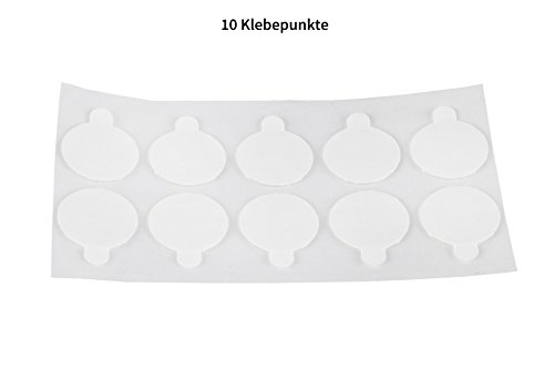 Hochleistungs-Klebepunkte doppelseitig aus Reinacrylat/Extra stark-klebend, restlos ablösbar / -
