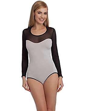Merry Style Body Mujer Sexy Mangas Largas Ropa Lencería VBD15