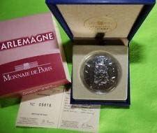 CHARLEMAGNE Coffret Euro Argent SÉRIE France Rois DE France SÉRIE 7d8ea8