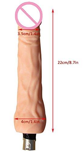 Fickmaschine Glückliche Standard Sex-Maschine Automatische Love Sex-Maschinengewehr mit Dildo , 3 Hubtiefen, frei einstellbar. Schwere standfeste Ausführung! Enorme Kraft schon im untersten Stoßbereich! Ein Echt Hochmoderner Freudenspender für Frauen von Likeep ! (Fickmaschin für Frau) - 4