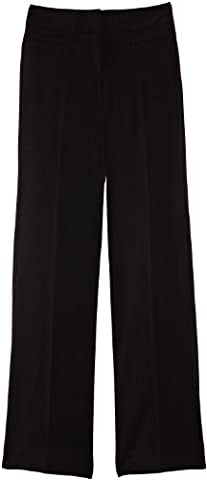 Blue Max Banner Senior Girl's Grenwich with Fly School Trousers, Black, W42/L31
