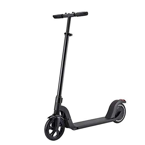 QIONGS Elektro-Scooter LCD-Armaturenbrett-Frontscheinwerfer Continuously Variable Speed   zusammenklappbare Freizeit Erwachsene tragbarer Mini-Scooter
