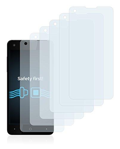 Savvies Schutzfolie für Allview W1 i [6er Pack] - klarer Displayschutz